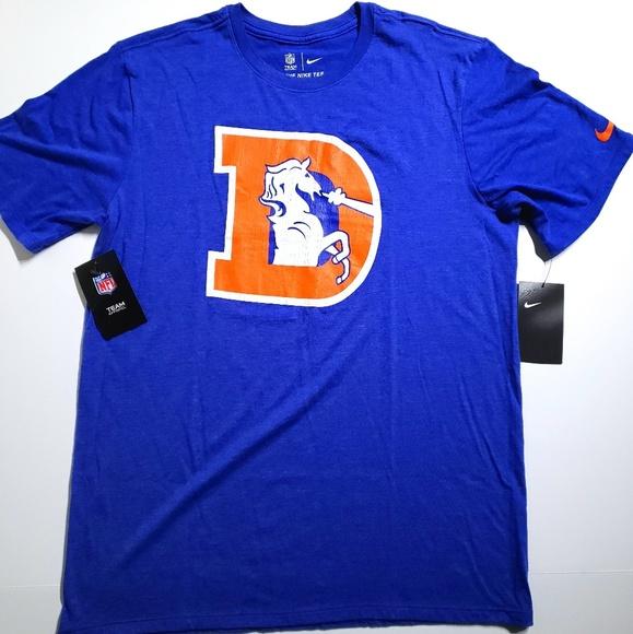 Nike NFL Denver Broncos Historic Crackle T-Shirt c5d8bdd9e